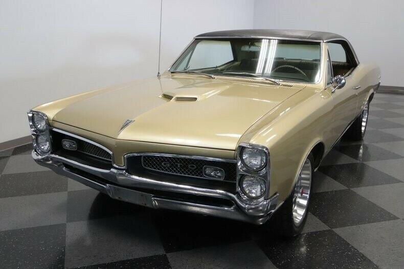 1967 Pontiac GTO, Classic Vintage Collector Receipts Original A/C Quadrajet Gold Facto