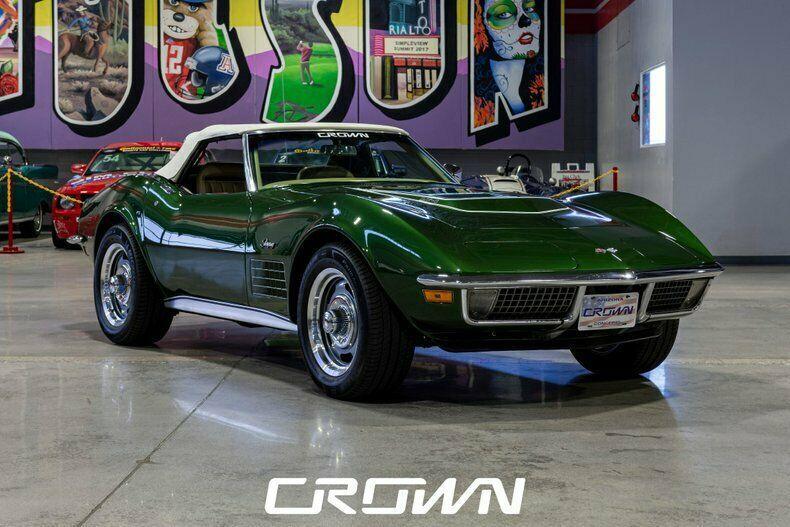 1970 Chevrolet Corvette, Vintage Classic Collector Performance Muscle