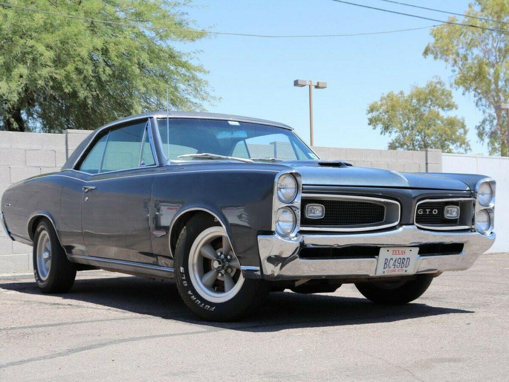 1966 Pontiac GTO Barn Find (1 owner since 1975)