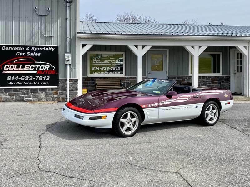 1995 Chevrolet Corvette Convertible Indy Pace Car [4K Orig Miles]