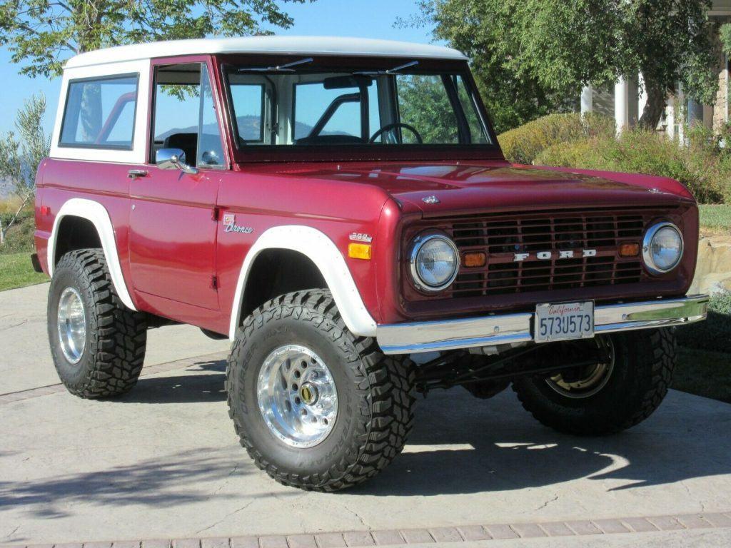1972 Ford Bronco [Original First Edition Sasquatch Restored]