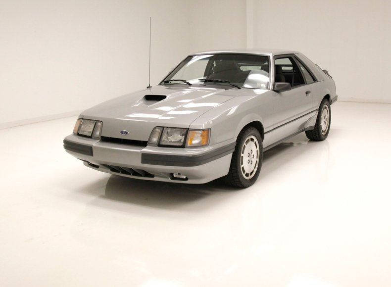 1986 Ford Mustang SVO [15,196 Orig Miles/1 Owner]