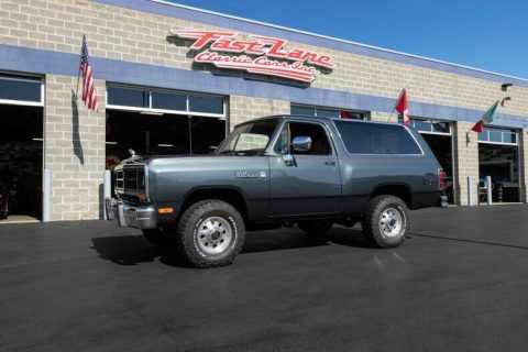 1988 Dodge Ramcharger 44k Miles for sale