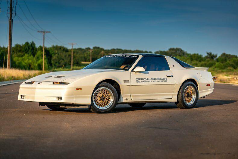 1989 Pontiac Trans Am Indy Pace Car. Low Miles, One of 1555 Built!