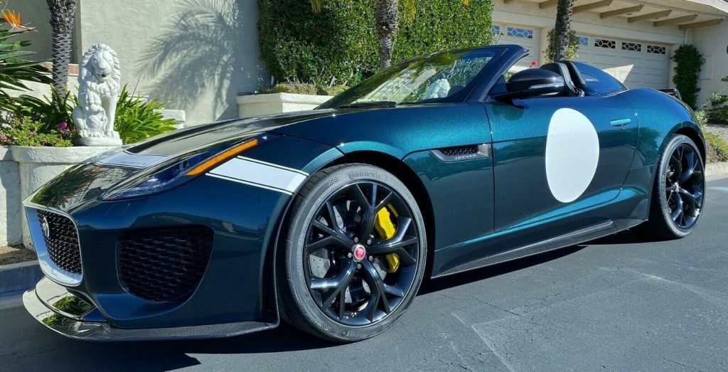 2016 Jaguar F-Type Project 7 Collector Car [Only 62 miles!]
