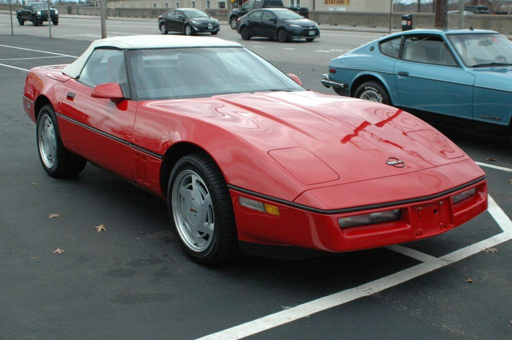1989 Chevrolet Corvette Collection Barn Find Very Clean Classic Muscle Roadster