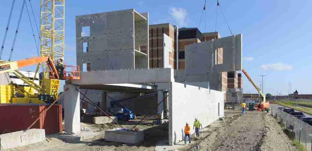 Tindall Corporation Corrections Precast Concrete Bexar