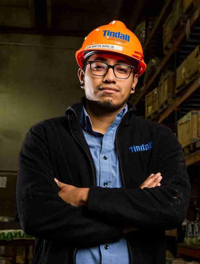 Tindall Virginia Division What's New Employee Spotlight Juan Santos-Gonzaga