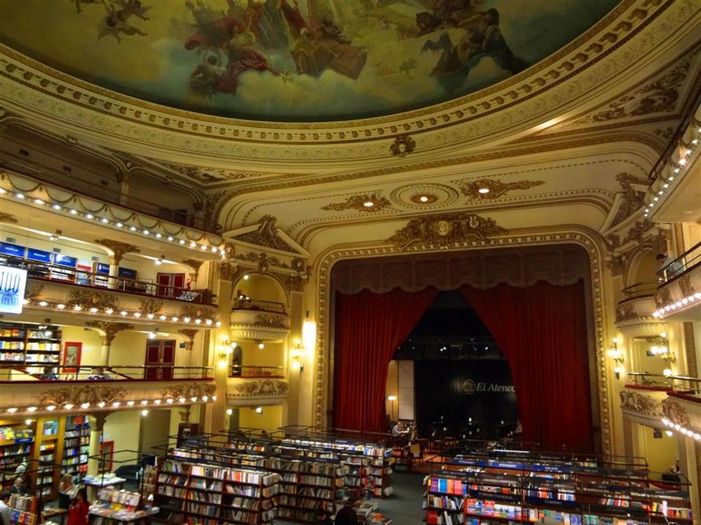 Livraria El Ateneo em Buenos Aires - foto blog Vontade de Viajar