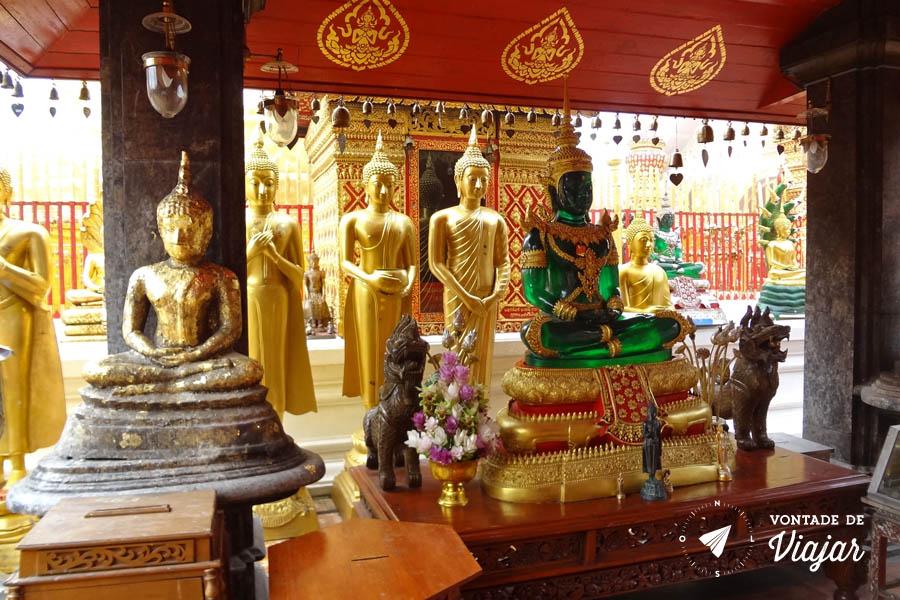 Tailandia Chiang Mai Doi Suthep - Buda de Esmeralda