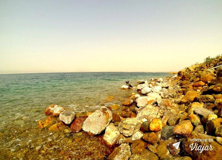 Mar Morto - dez vezes mais salgado que os oceanos