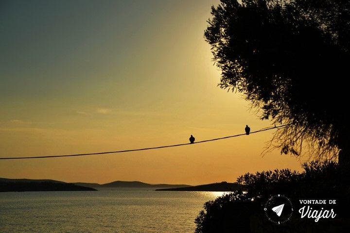 Dicas de fotografia de viagem - hora dourada em Mykonos