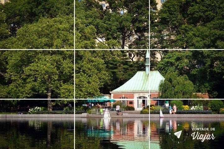 Dicas de fotografia de viagem - regra dos tercos - Central Park NY