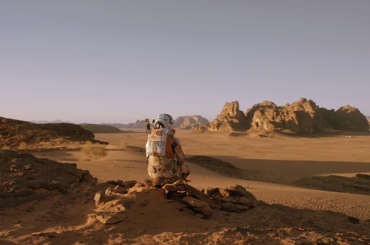 Jordania - Deserto Wadi Rum cenario do filme Perdido em Marte