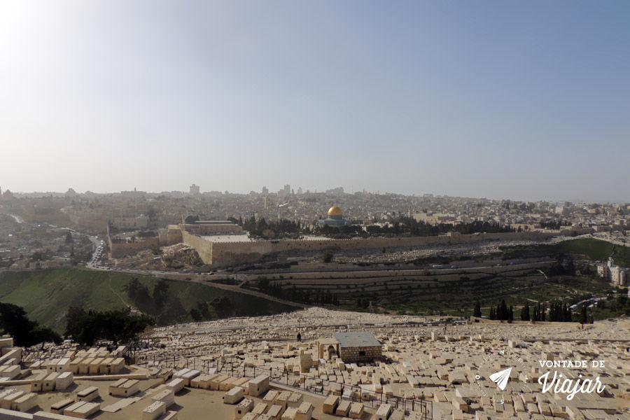 Israel - Vista do Monte das Oliveiras