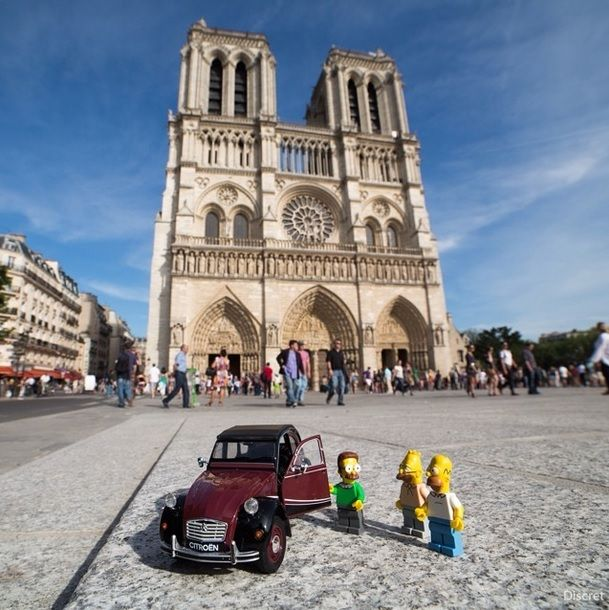 Simpsons na Notre Dame