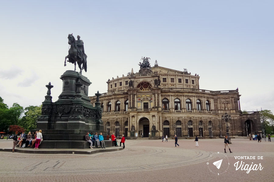 O que fazer em Dresden - Theaterplatz Semper Opera