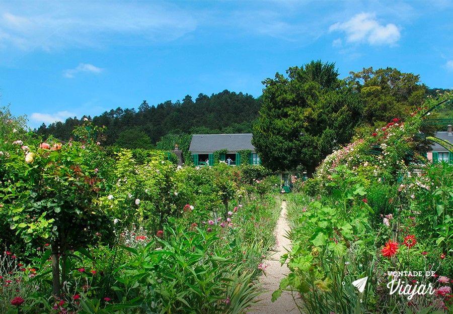 Giverny - Casa de Monet em Giverny na Franca
