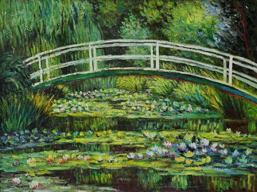 Giverny - Ninfeias Brancas por Monet em 1899