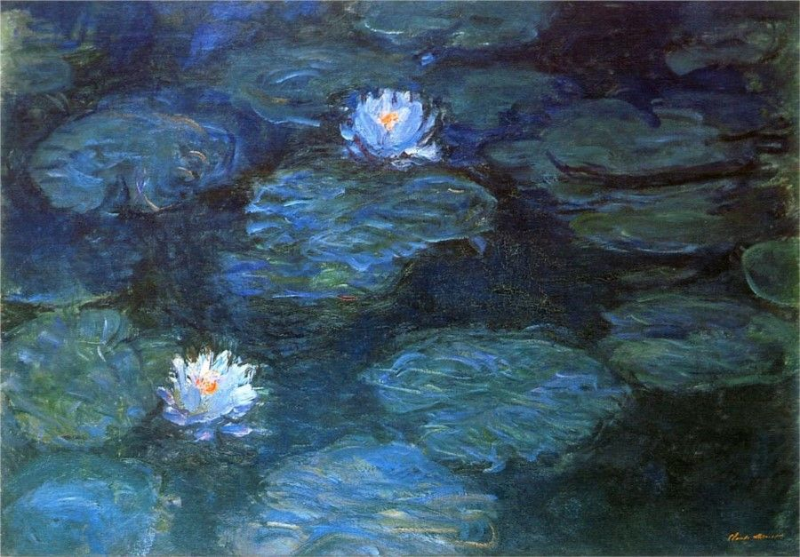 Giverny - Um dos quadros das ninfeias de Monet