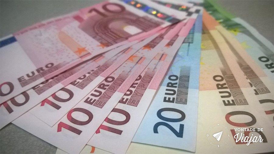 Melhor Cambio - Euros para viagem