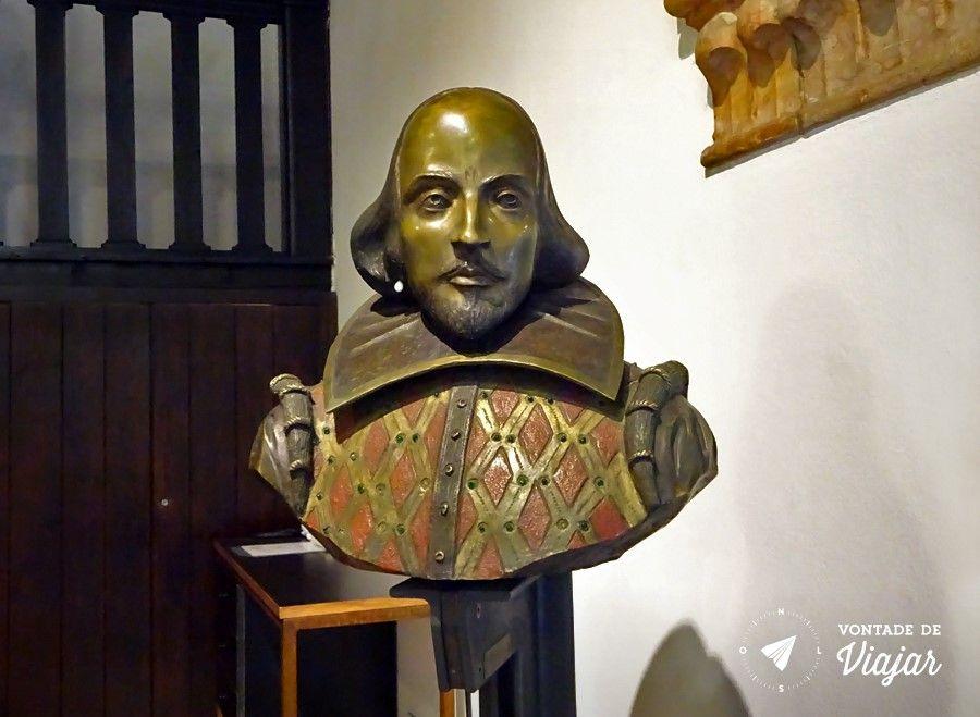 romeu e julieta história - Estatua de Shakespeare Casa de Julieta