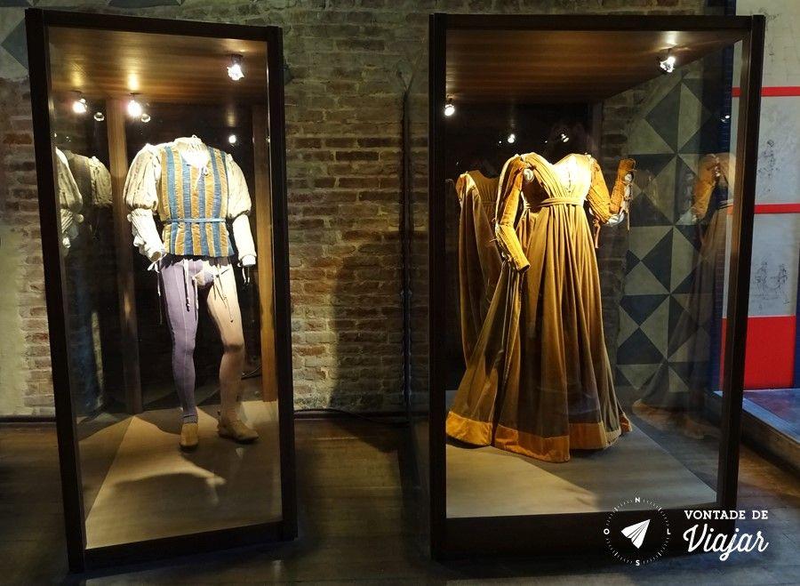 Romeu e Julieta história - Figurino de Romeu e Julieta