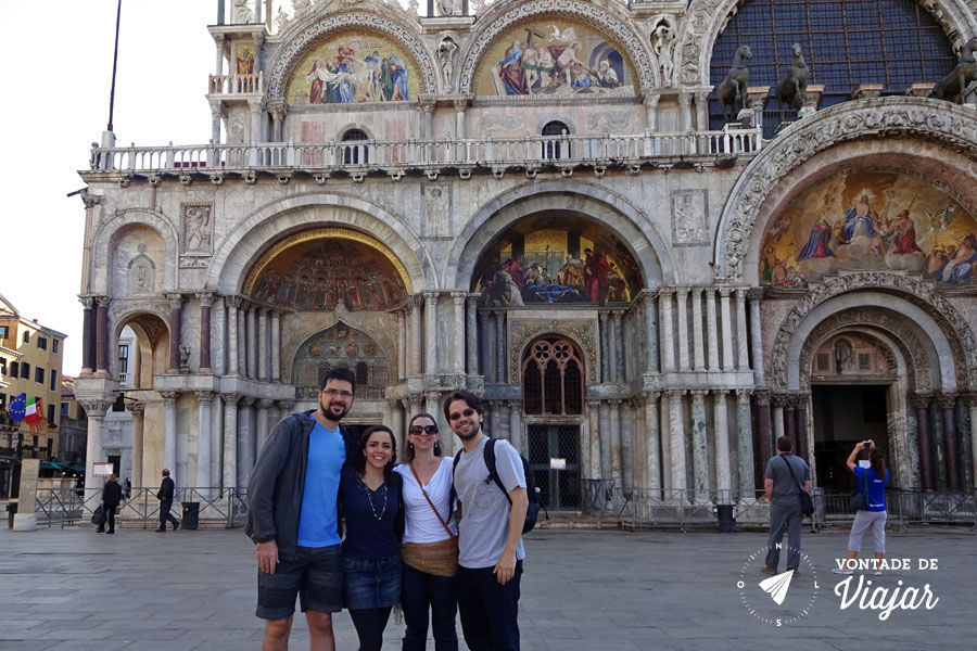 Italia - Piazza San Marco Veneza de manha