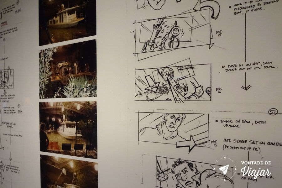 Nova York - Museu da Imagem em Movimento - Exposicao Martin Scorsese Storyboard