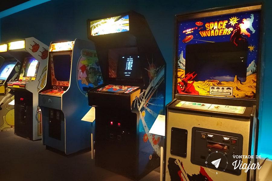 Nova York - Museu da Imagem em Movimento - Jogos de Fliperama Arcade Games