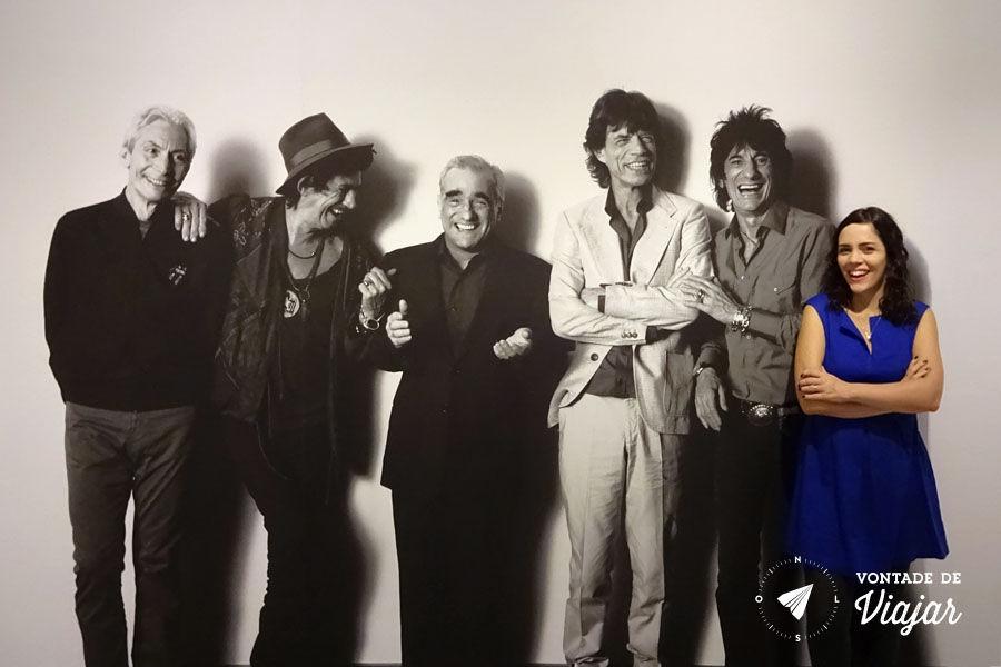 Nova York - Museu da Imagem em Movimento - Martin Scorsese e Rolling Stones