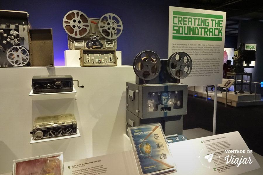 Nova York - Museu da Imagem em Movimento - Trilha sonora