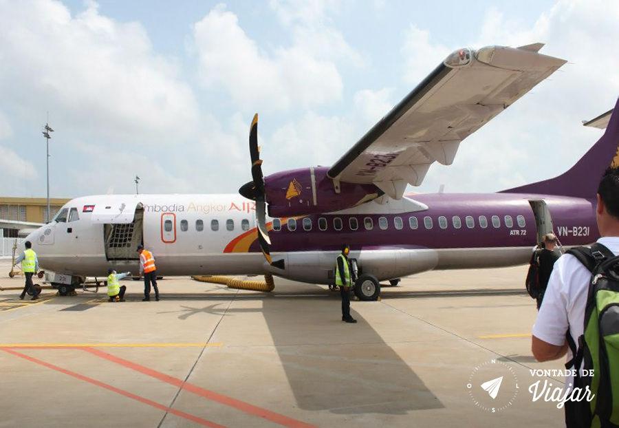 Como comprar passagens mais barato - Aviao Camboja