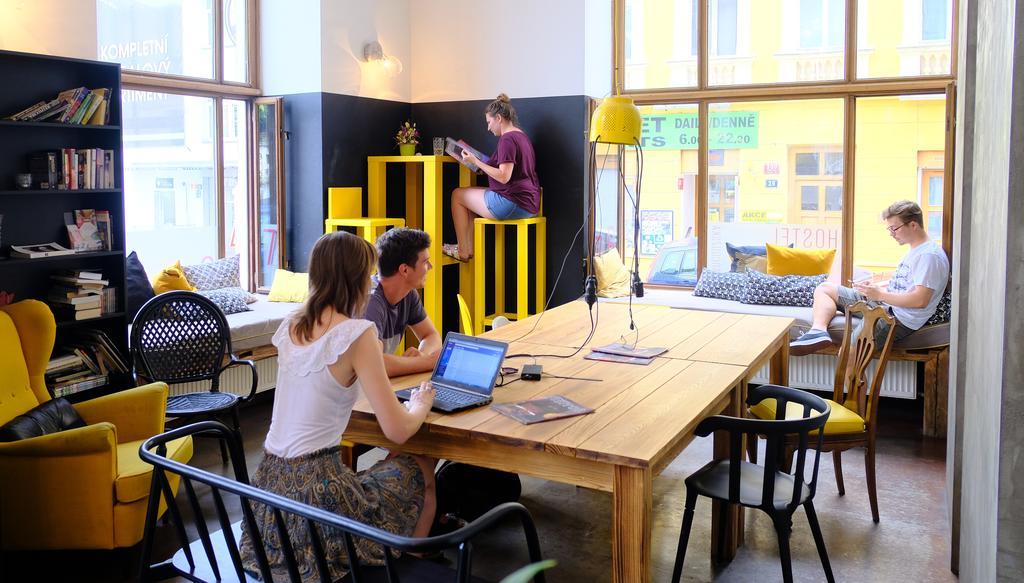 Onde ficar em Praga - Czech Inn Lounge do albergue