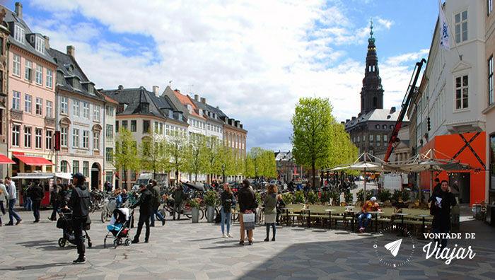 O que fazer em Copenhague - Amagertov - Foto Ludmila Ravazi