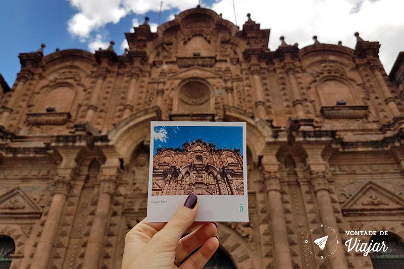 Peru Cusco - Portal do Comercio Plaza de Armas