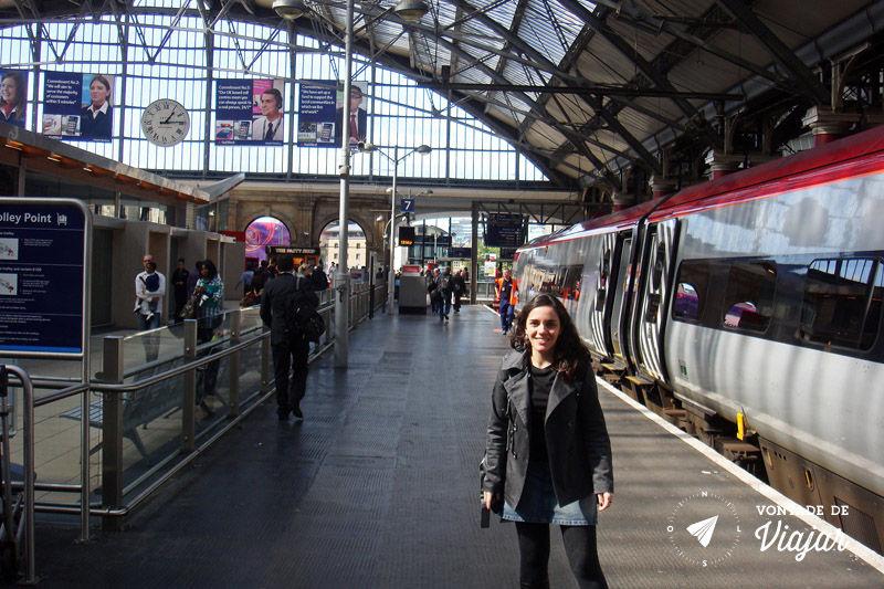 Trem na Europa - Trem para Liverpool