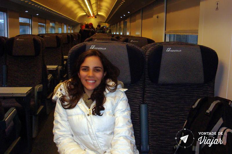 Trem na Europa - Trem para Veneza na Italia
