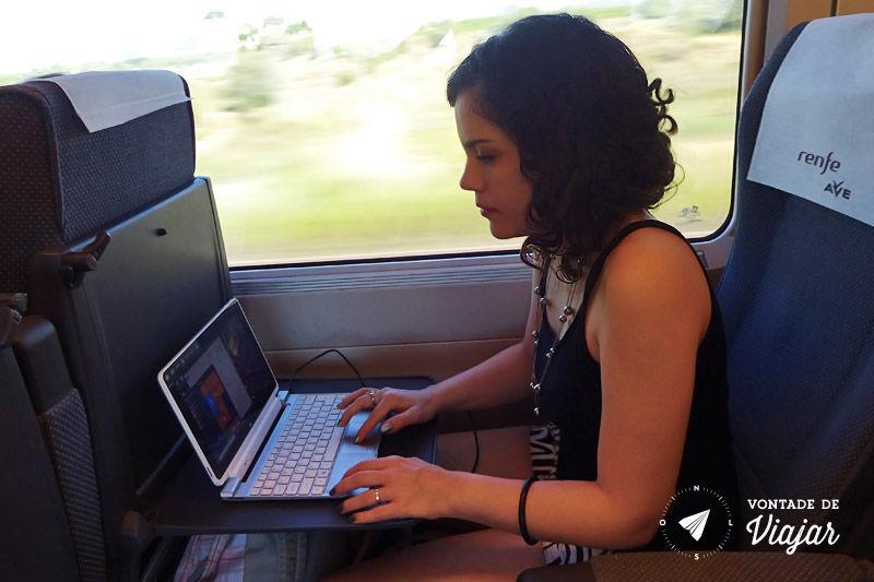 Trem na Europa - wifi na viagem de trem