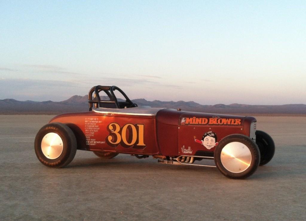 1929 Model A Ford Roadster Vintage Land Speed SCTA Bonneville salt real hot rod