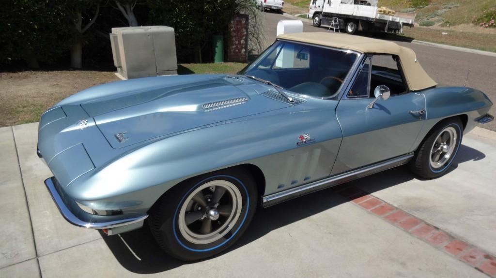1966 Chevrolet Corvette Convertible 427 ZL 1 All Aluminum Big Block