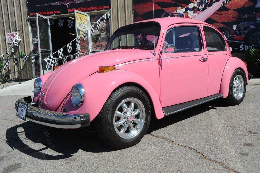 1977 PINK Volkswagen Beetle Showcar