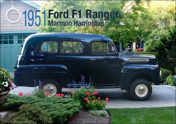 1951 Ford F 100 Ranger Marmon Harrington 4X4