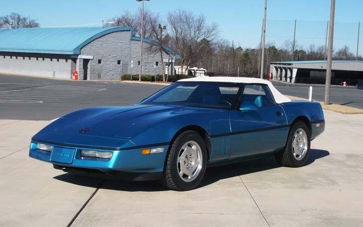 1988 Chevrolet Corvette Convertible