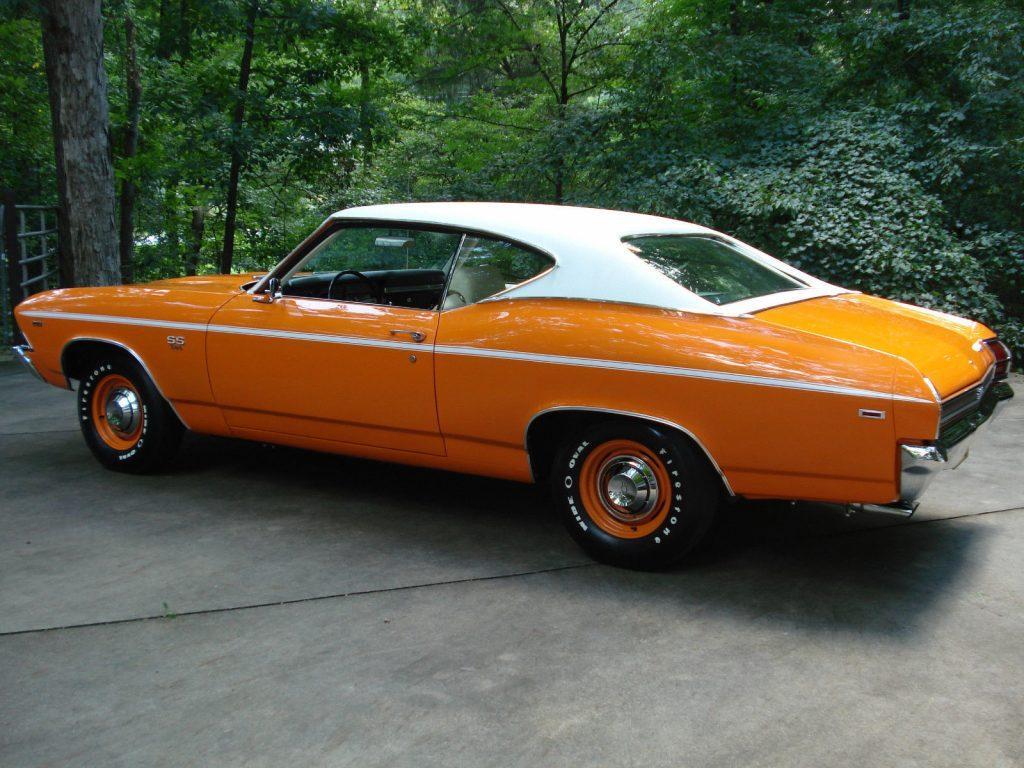 1969 Chevrolet Chevelle SS 396,4 Spd,12 bolt 3:31 positraction
