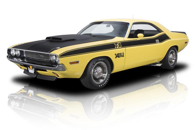 Restored 1970 Dodge Challenger T/A