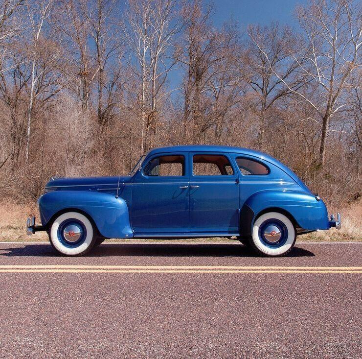 1940 Plymouth Deluxe Four-door Touring Sedan [Rotisserie Restored]
