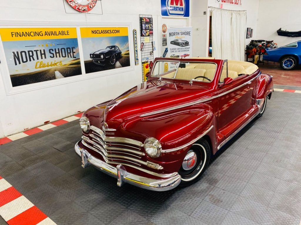 1947 Plymouth Special Deluxe Convertible Street Rod ZZ4 Crate Motor