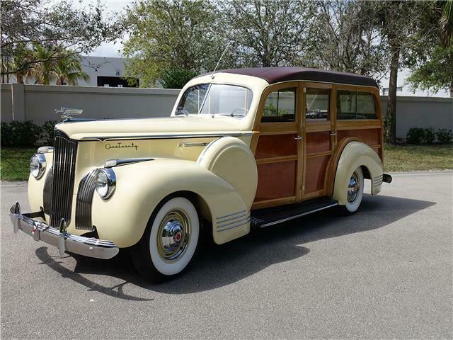 1941 Packard One Twenty Deluxe Woody Wagon [Finest Restoration]