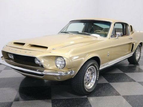 1968 Ford Mustang Shelby GT500 [Nicely Restored, Original Colors] for sale